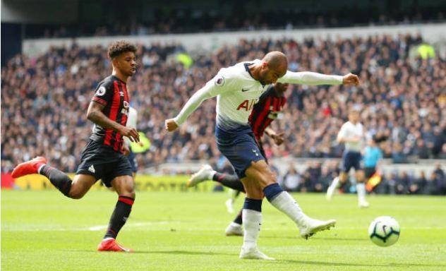 Lucas Moura lap hat-trick giup Tottenham de bep Huddersfield 4-0 hinh anh 17