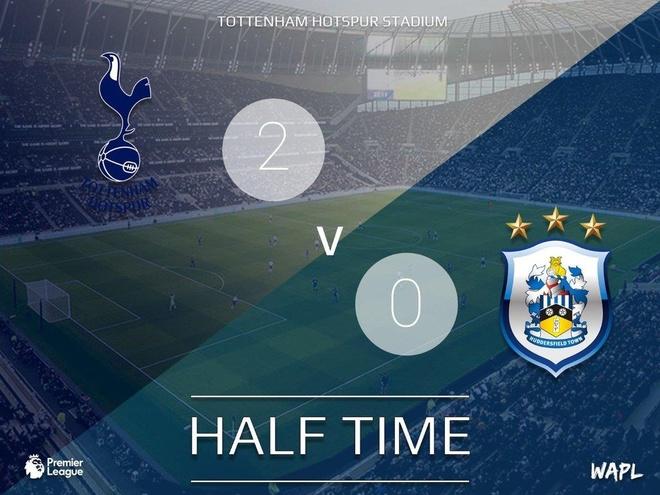 Lucas Moura lap hat-trick giup Tottenham de bep Huddersfield 4-0 hinh anh 20