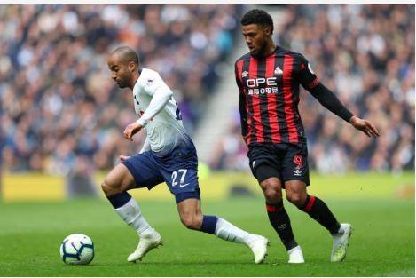 Lucas Moura lap hat-trick giup Tottenham de bep Huddersfield 4-0 hinh anh 23