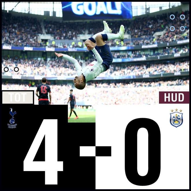 Lucas Moura lap hat-trick giup Tottenham de bep Huddersfield 4-0 hinh anh 29