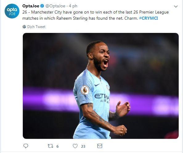 Sterling toa sang giup Man City thang Crystal Palace hinh anh 12