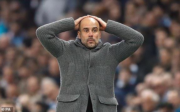 Ghi 4 ban o luot ve, Man City van phai chia tay Champions League hinh anh 31
