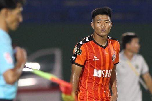 SLNA len vi tri thu 2 V.League sau tran thang Da Nang hinh anh 1