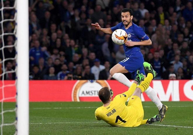 Chelsea, Arsenal truoc co hoi tao chung ket trong mo o Europa League hinh anh 1