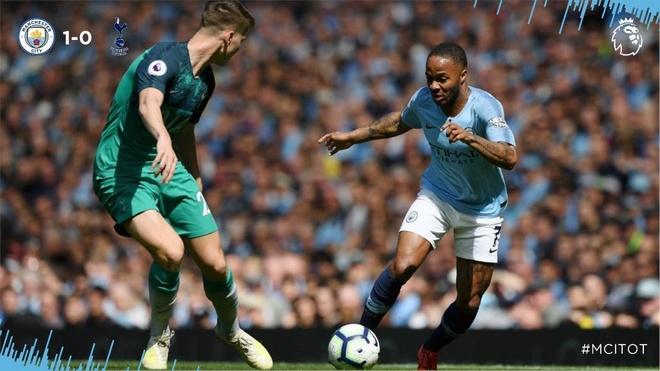 Man City tro lai ngoi dau sau chien thang truoc Tottenham hinh anh 40
