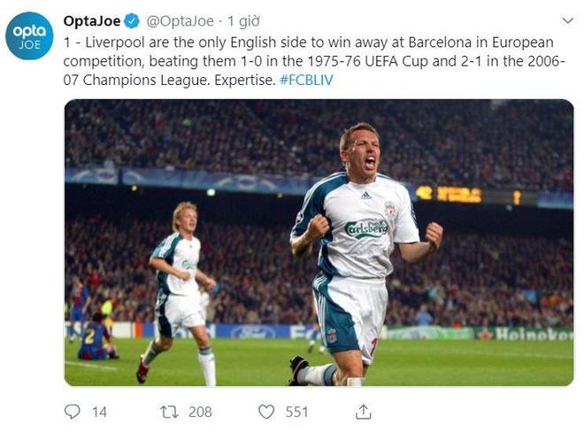 Messi lap cu dup, Barca nhan chim Liverpool tren san nha hinh anh 12