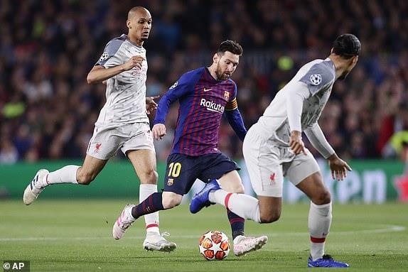 Messi lap cu dup, Barca nhan chim Liverpool tren san nha hinh anh 18
