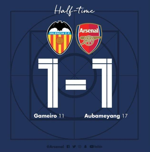 Aubameyang lap hat-trick dua Arsenal vao chung ket Europa League hinh anh 20
