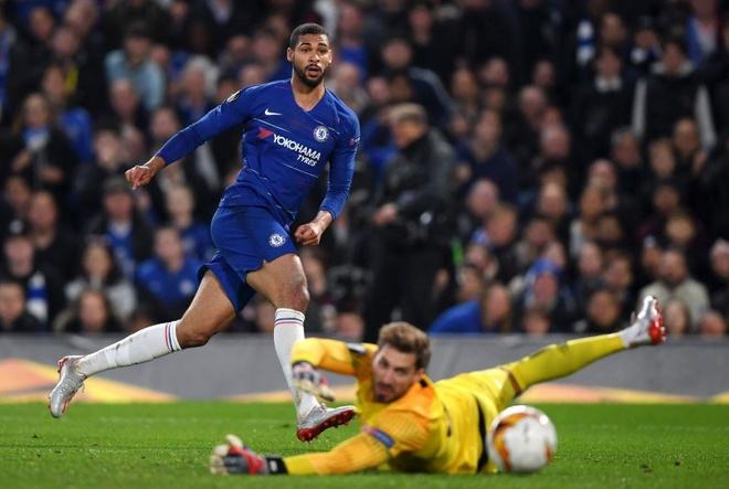 Aubameyang lap hat-trick dua Arsenal vao chung ket Europa League hinh anh 17