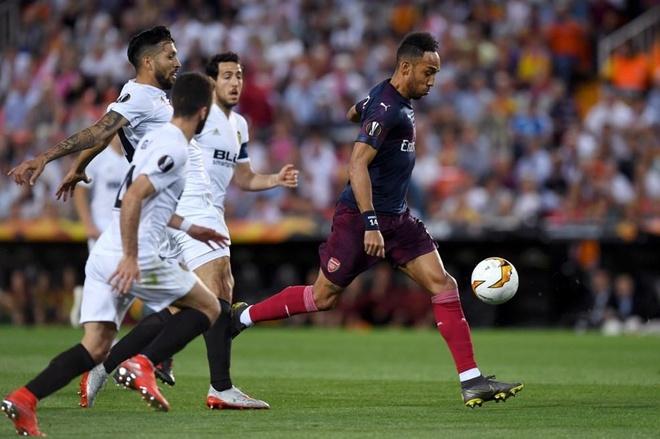 Aubameyang lap hat-trick dua Arsenal vao chung ket Europa League hinh anh 18