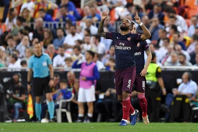 Aubameyang lap hat-trick dua Arsenal vao chung ket Europa League hinh anh 22
