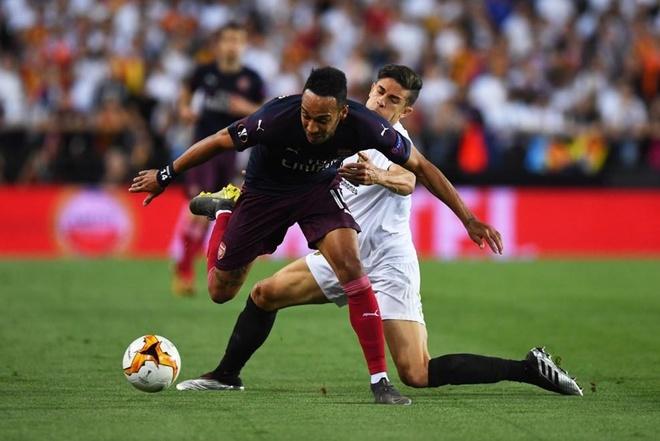 Aubameyang lap hat-trick dua Arsenal vao chung ket Europa League hinh anh 19