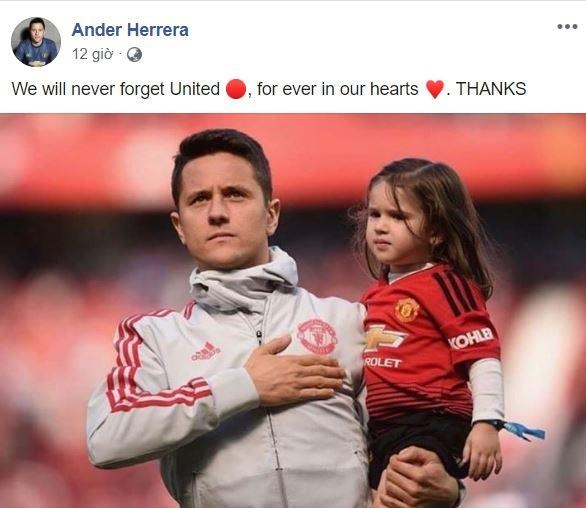 Herrera chia tay MU anh 1