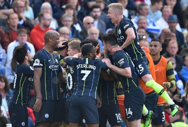 Man City, Liverpool tạo nên mùa giải chưa từng có trong lịch sử - Ảnh 1.