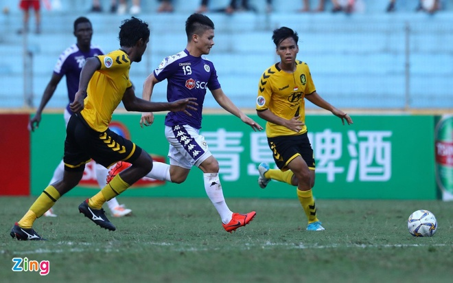 CLB Ha Noi 2-0 Tampines Rovers: Thanh Chung gia tang cach biet hinh anh 3