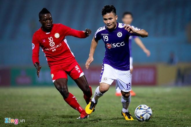 CLB Ha Noi 2-0 Tampines Rovers: Thanh Chung gia tang cach biet hinh anh 11