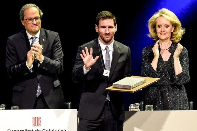 Messi huong dac quyen hiem co trong lich su Barcelona hinh anh 1
