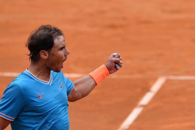 Thang Djokovic, Nadal xac lap ky luc khi vo dich Rome Masters hinh anh 7