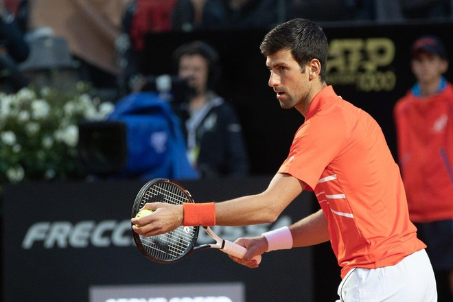 Thang Djokovic, Nadal xac lap ky luc khi vo dich Rome Masters hinh anh 12