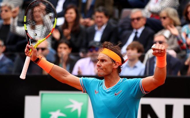 Thang Djokovic, Nadal xac lap ky luc khi vo dich Rome Masters hinh anh 13