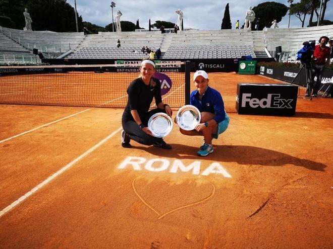 Thang Djokovic, Nadal xac lap ky luc khi vo dich Rome Masters hinh anh 14