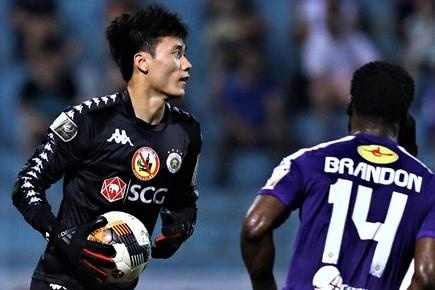 Highlights V.League 2019: CLB Nam Dinh 2-0 CLB Ha Noi hinh anh