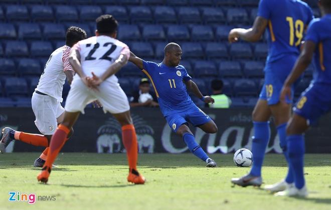 Curacao 3-1 Ấn Độ (hết H1): Sao Ngoại hạng Anh ghi bàn