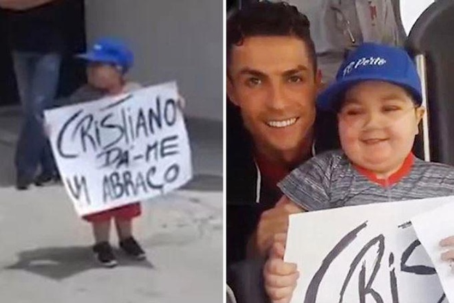 Ronaldo dung xe buyt de dap lai tinh cam CDV nhi hinh anh 1