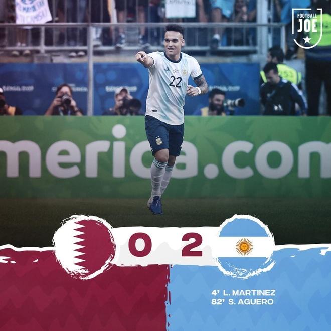 Aguero ghi ban dua Argentina vao tu ket Copa America 2019 hinh anh 31
