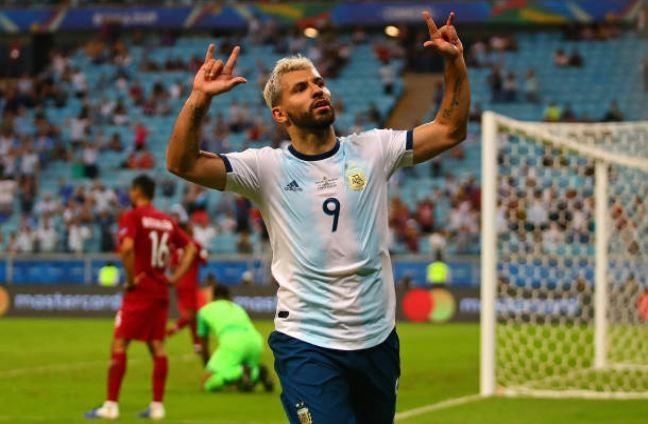 Aguero ghi ban dua Argentina vao tu ket Copa America 2019 hinh anh 29