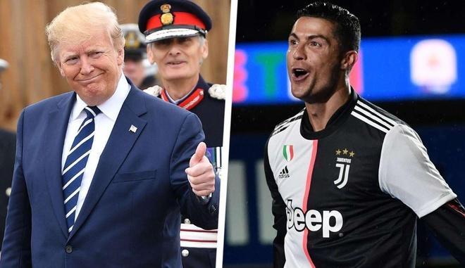 Tong thong Trump ca ngoi suc hut cua Ronaldo hinh anh 1