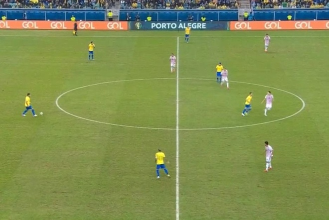 Brazil chat vat vao ban ket Copa America sau loat luan luu may rui hinh anh 15