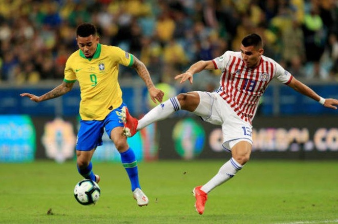 Brazil chat vat vao ban ket Copa America sau loat luan luu may rui hinh anh 12