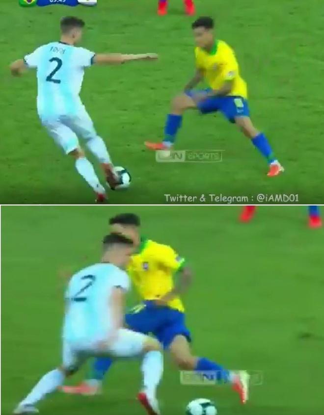 Coutinho be mat sau pha dao chan cua hau ve Argentina hinh anh 1