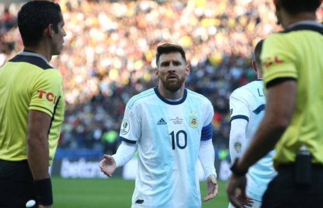 Messi đối diện án phạt nặng vì những phát ngôn chỉ trích CONMEBOL. Ảnh: Getty.