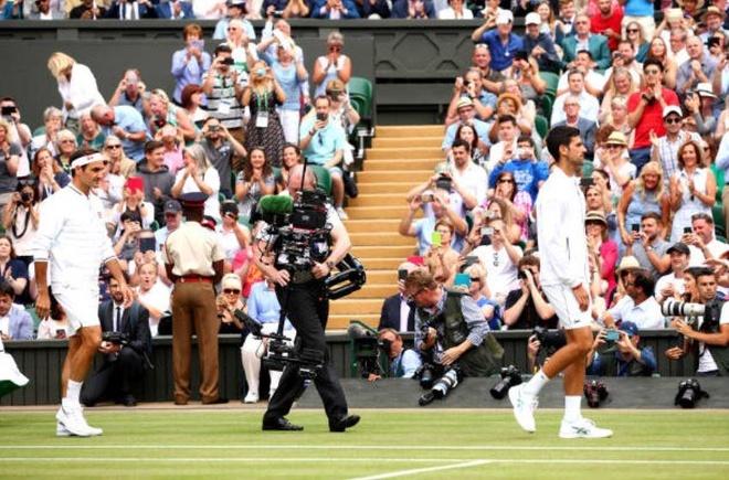Roger Federer,  Novak Djokovic,  chung ket Wimbledon,  tuong thuat truc tiep anh 21