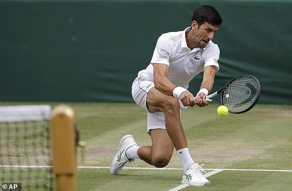 Roger Federer,  Novak Djokovic,  chung ket Wimbledon,  tuong thuat truc tiep anh 33