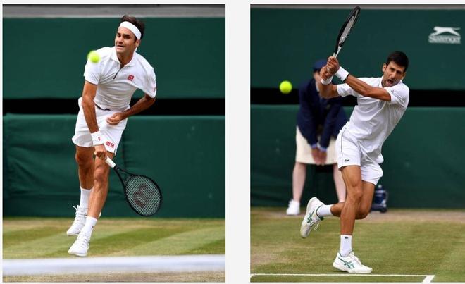 Roger Federer,  Novak Djokovic,  chung ket Wimbledon,  tuong thuat truc tiep anh 38