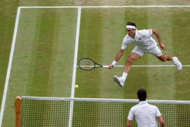 Roger Federer,  Novak Djokovic,  chung ket Wimbledon,  tuong thuat truc tiep anh 45