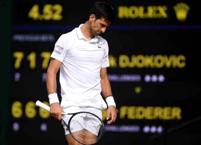 Roger Federer,  Novak Djokovic,  chung ket Wimbledon,  tuong thuat truc tiep anh 63
