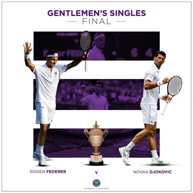 Djokovic vs Federer: Vo chong Hoang tu William du chung ket Wimbledon hinh anh 7