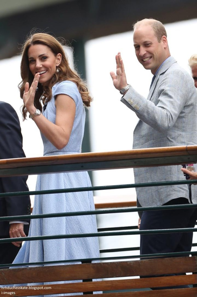 Djokovic vs Federer: Vo chong Hoang tu William du chung ket Wimbledon hinh anh 1