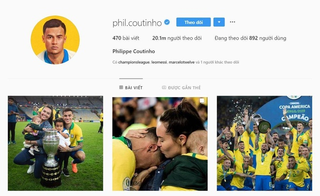 Coutinho xoa thong tin ve Barca khi biet bi mang doi Neymar hinh anh 1
