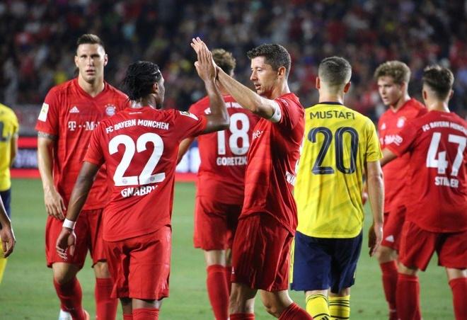 Sao tre toa sang giup Arsenal danh bai Bayern Munich hinh anh 21