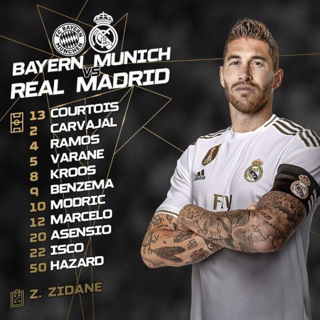 Hazard da chinh trong tran thua 1-3 cua Real truoc Bayern hinh anh 5