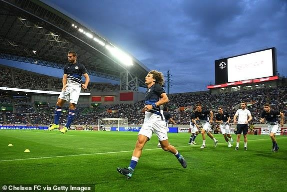 Chelsea gianh Rakuten Cup sau chien thang truoc Barca hinh anh 16
