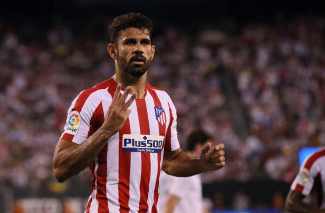 Real Madrid 3-7 Atletico Madrid: Diego Costa lap poker roi nhan the do hinh anh 21