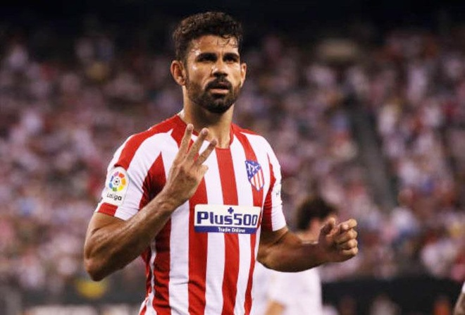 Real Madrid 3-7 Atletico Madrid: Diego Costa lap poker roi nhan the do hinh anh 1