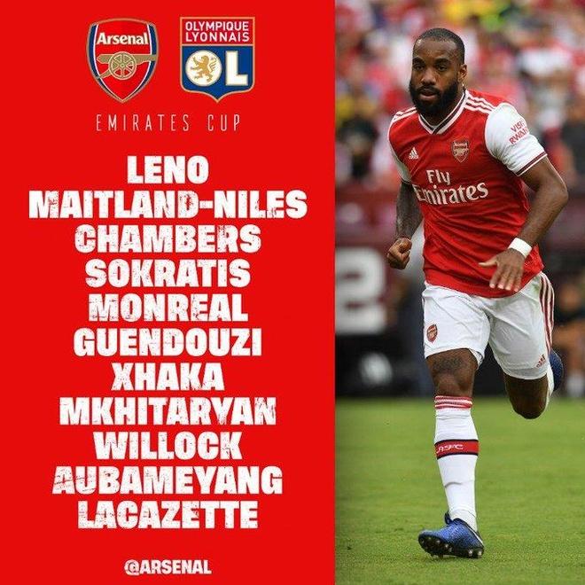 Arsenal da giao huu voi Lyon anh 3