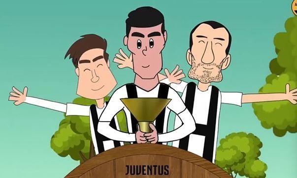 Hoat hinh Ronaldo bo ao Real, mang cup ve cho Juventus hinh anh